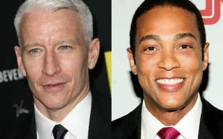 Anderson Cooper (Stephen Lovekin/Getty Images); Don Lemon(Robin Marchant/Getty Images)