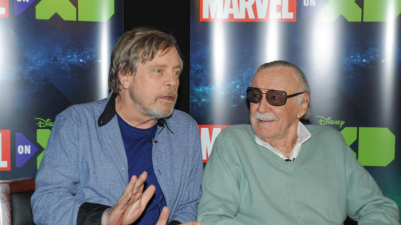 Mark Hamill and the late Stan Lee.