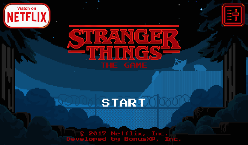Illustration for article titled The Stranger Things mobile game is rad