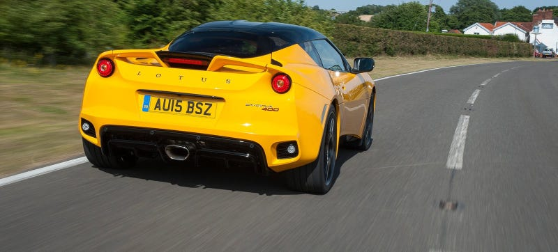 Illustration for article titled The U.S. Government Is Forcing Lotus To Make An Entry Level Evora