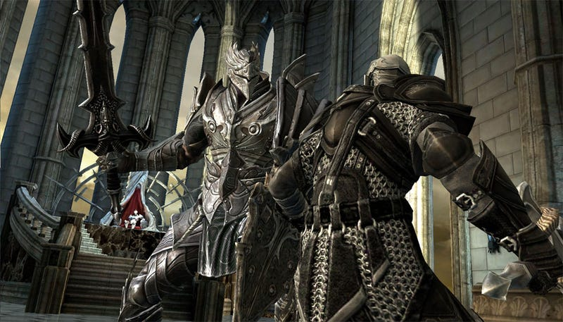 Illustration for article titled Infinity Blade Unsheathes For iPad, iPhone In December