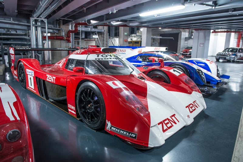 Illustration for article titled Inside Toyota Motorsport's Museum - Two Decades Of Le Mans