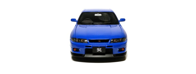 Illustration for article titled The Nissan Skyline GT-R (R33) V-Spec LM Limited in 1/18, by AUTOart