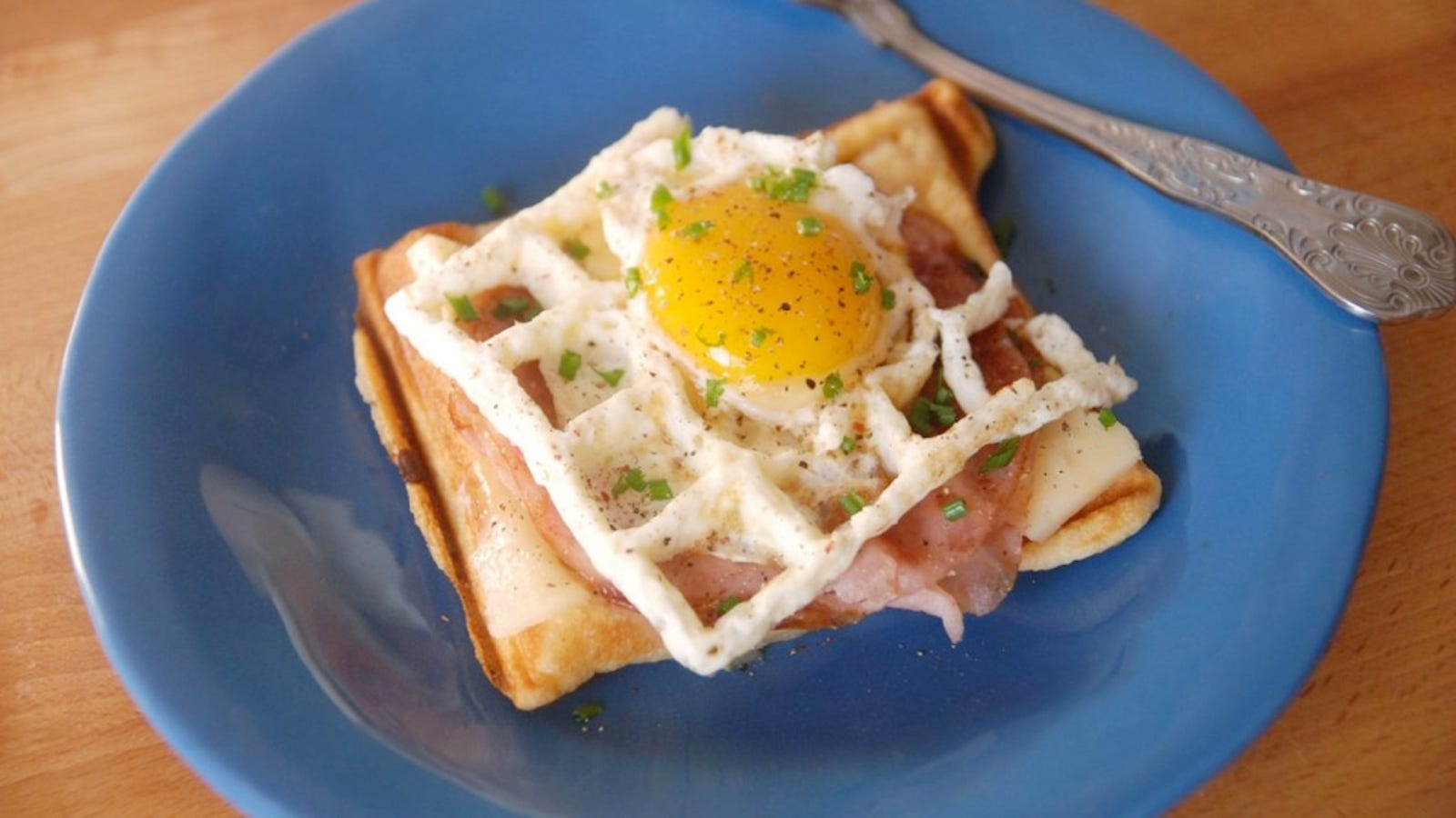 You Can  And Must  Cook Eggs In A Waffle Iron
