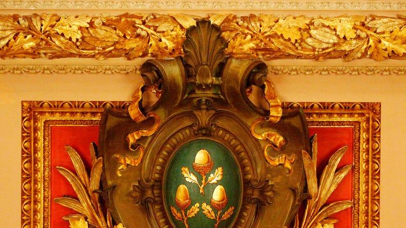 Just some casual decor from Cornelius Vanderbilt II's Newport mansion, The Breakers. Photo: AP images.