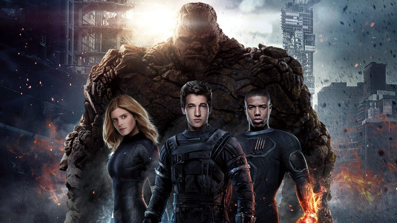 Illustration for article titled Fantastic Four: yeah, it liked the shit outta it.