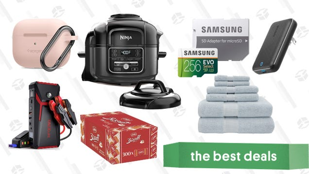 Thursday s Best Deals: Anker 45W Fast Charger, 300 Biscoff Cookies, Spigen AirPods and Apple Watch Cases, Samsung EVO MicroSD Card, and More