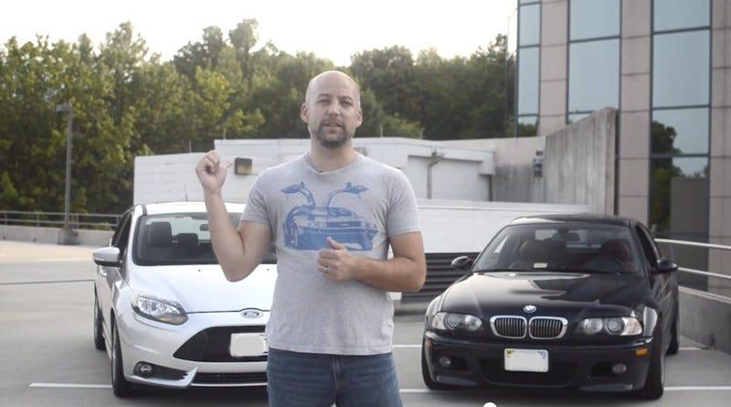 Illustration for article titled Video: BMW E46 M3 vs. Focus ST Part 2   The Autocross