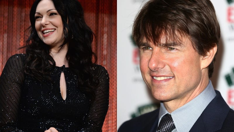 Illustration for article titled Oh Dear, Laura Prepon May Be Tom Cruise's New Scientology Girlfriend
