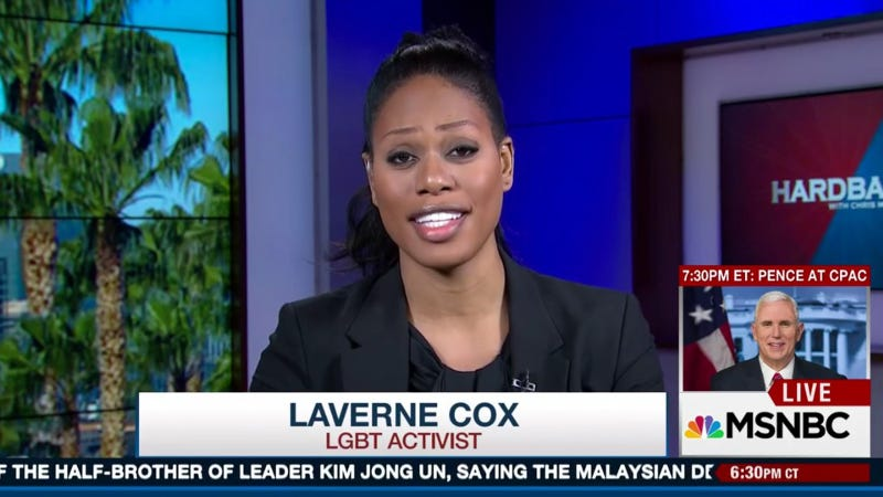 Laverne Cox Shut Down An Anti-Trans Activist On MSNBC