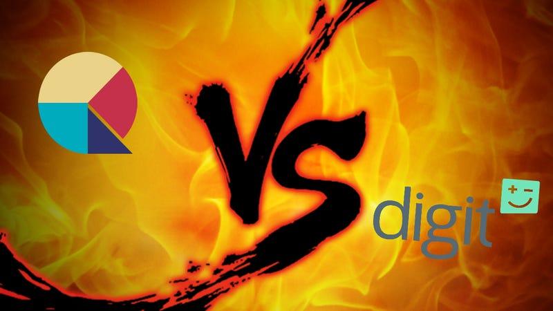 Illustration for article titled Saving App Showdown: Qapital Vs. Digit