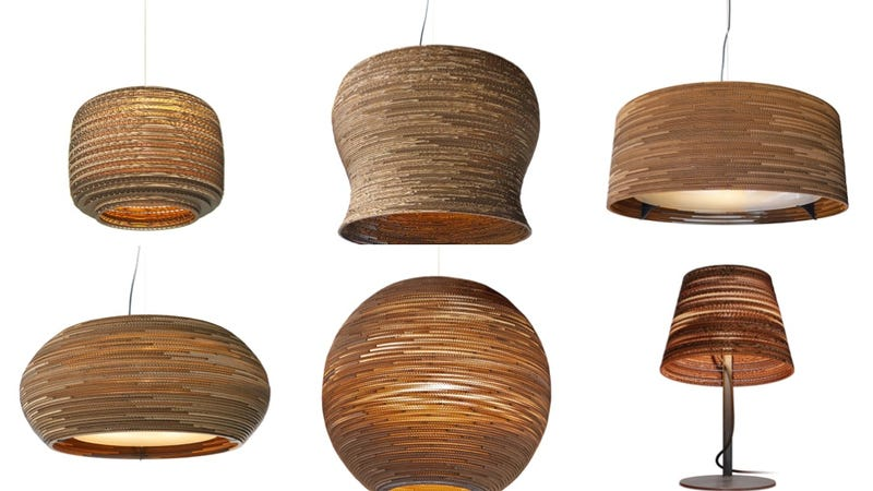 8 Amazingly Clever Lamps Made From Plain Old Cardboard
