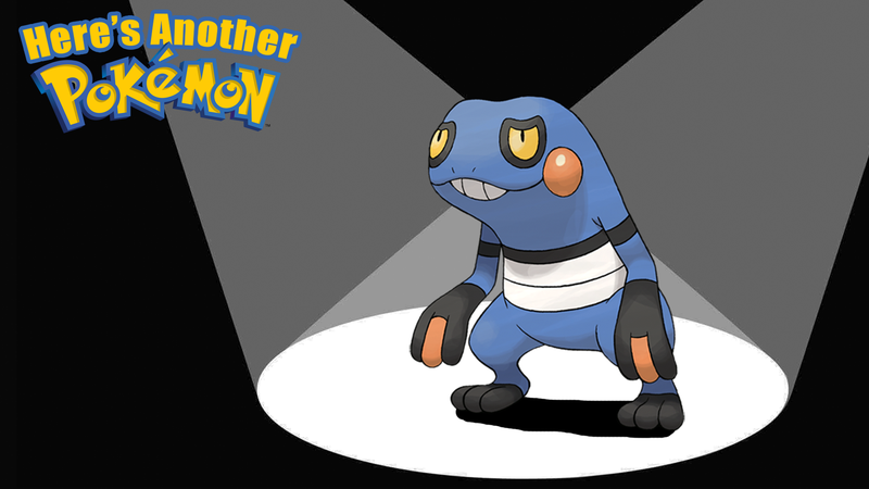 Illustration for article titled Croagunk Will Stab You With His Poison Fingers