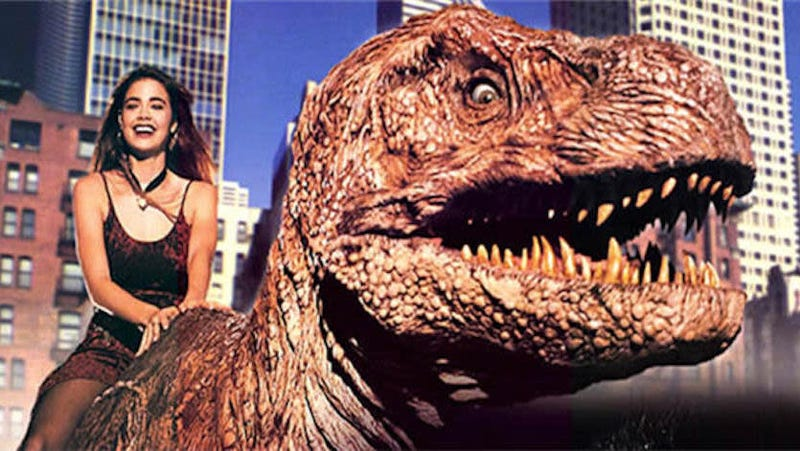 "Illustration for article titled Cinepocalypse to screen R-rated ""gore cut"" of '90s-era kid flick Tammy And The T-Rex"