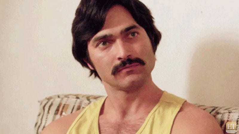 Sweet 'stache, Clark (Everybody Wants Some!)