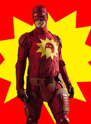 Illustration for article titled The Amazing Wrongness of Rainn Wilson's New Superhero Movie