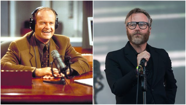Why, yes, this is what it would sound like if The National covered the Frasier theme song