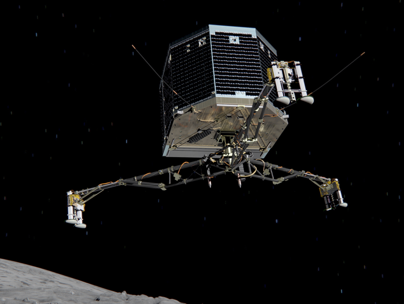 Illustration for article titled Are We There, Yet? The Challenges Of Landing On A Comet