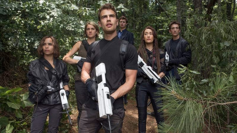 Illustration for article titled Weekend Box Office: No allegiance to Allegiant