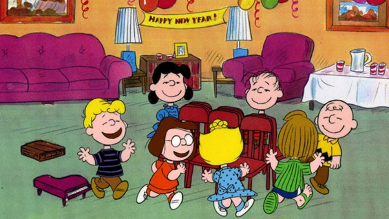 Illustration for article titled The Peanuts gang just won't stop forcing you to spend different holidays with it