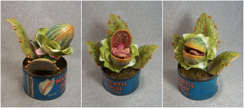 Illustration for article titled This Audrey II Model Is Pitch Perfect