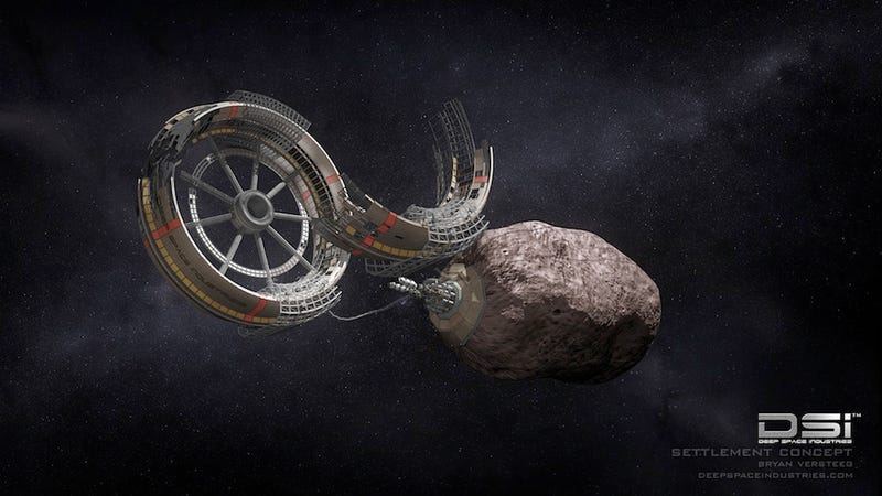 """Illustration for article titled """"FireFly"""" spaceships to begin exploring asteroids in 2015"""