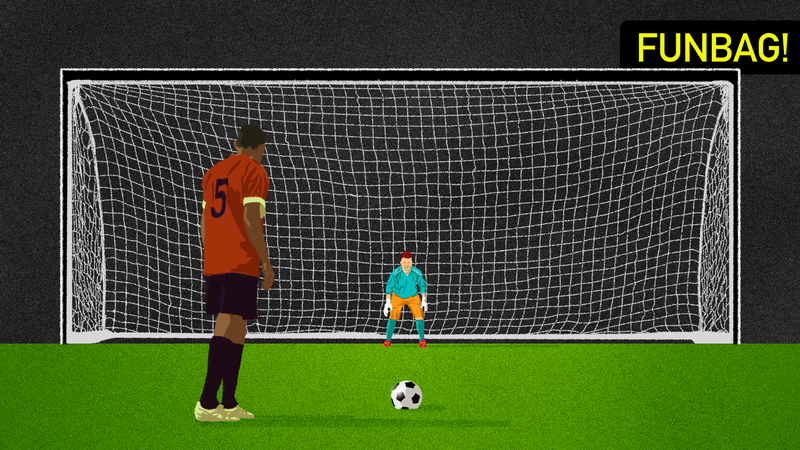 Illustration for article titled Are Penalty Kicks Too Easy?