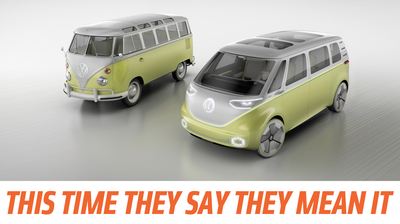 Illustration for article titled Holy Crap: Volkswagen Will Build That New Microbus