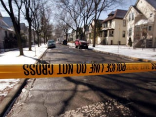 Crime scene in Chicago (Getty Images)