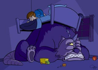 Illustration for article titled Irrational Under the Bed Fears