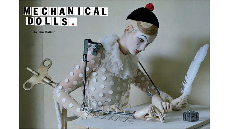 Illustration for article titled Dreamy New Vogue Italia Editorial Features Puppets