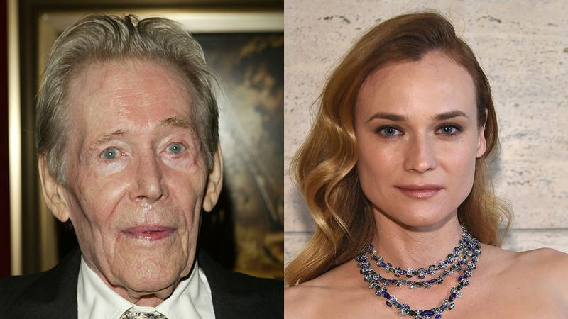 Illustration for article titled Diane Kruger Is Feuding With Peter O'Toole, a Dead Man
