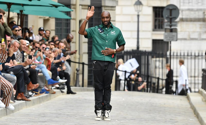 Virgil Abloh walks the runway during the Louis Vuitton Menswear Spring Summer 2020 show on June 20, 2019, in Paris, France.