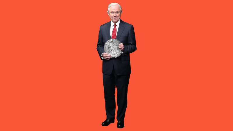 Illustration for article titled How Tall Is Jeff Sessions???