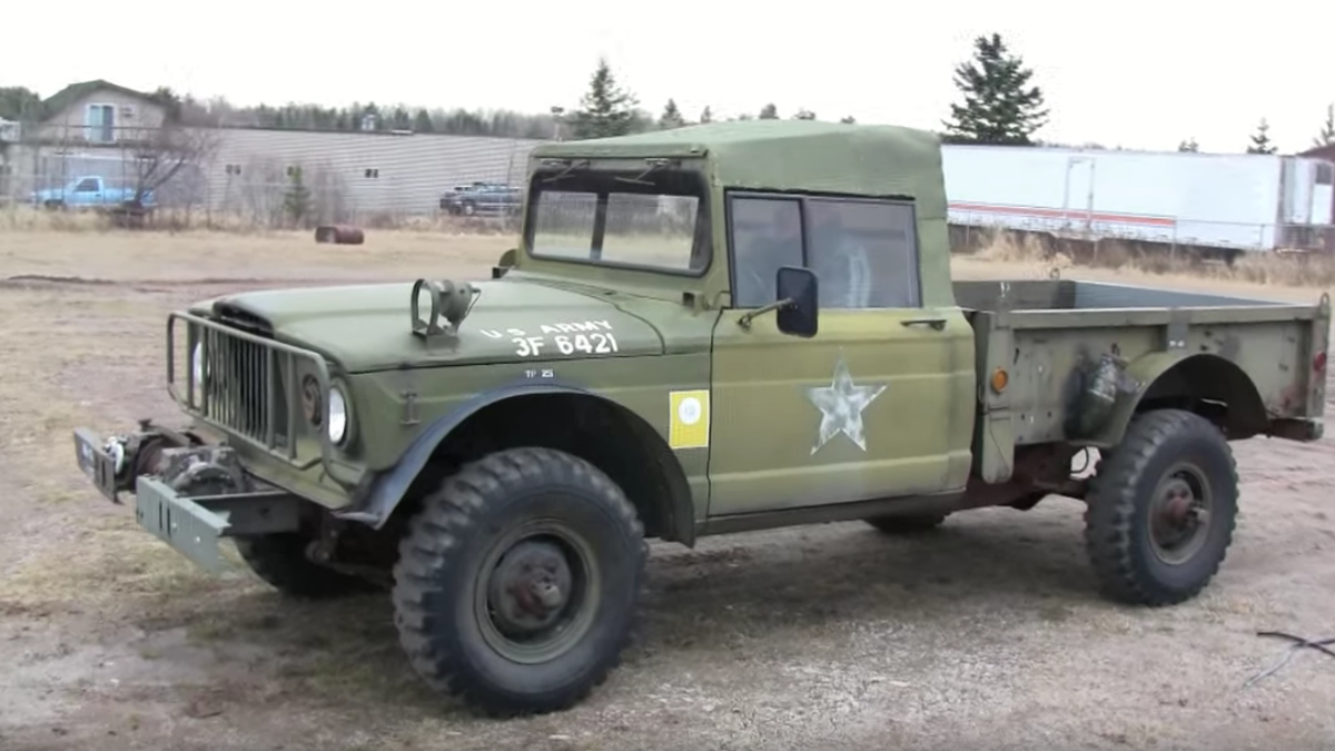seven jeeps you never knew existed Jeep XJ