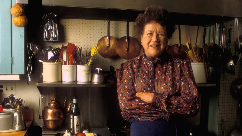 Julia Child at her home in Cambridge, Massachusetts. (Photo: Rick Friedman/Corbis via Getty Images)