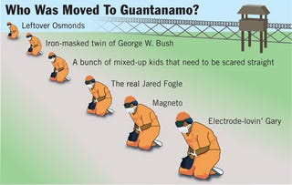 Illustration for article titled Who Was Moved to Guantanamo?