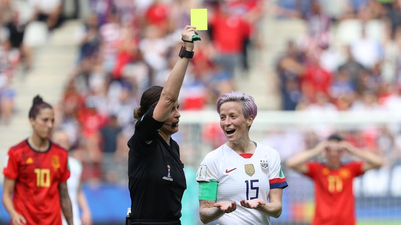 Illustration for article entitled The Women's World Cup has a referee problem