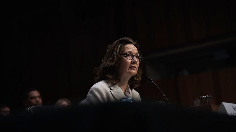 Illustration for article titled Gina Haspel and the Conservative Distortion of 'Empowerment'