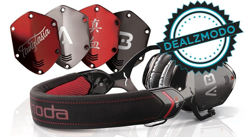 Illustration for article titled Black and Red Headphones for Vampires Are Your Deal of the Day