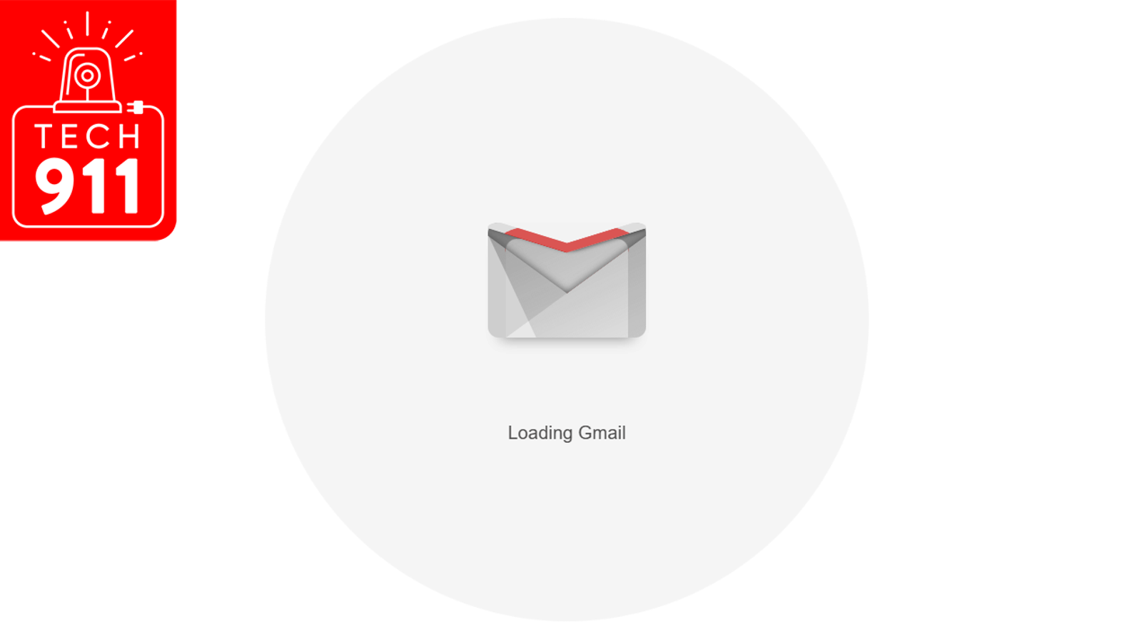 QnA VBage I Can't Get Gmail to Load and It's Driving Me Crazy