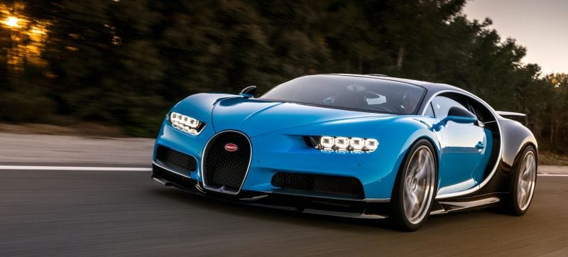Illustration for article titled Bugatti Chiron - What would you rather spend the $2.35 million on?