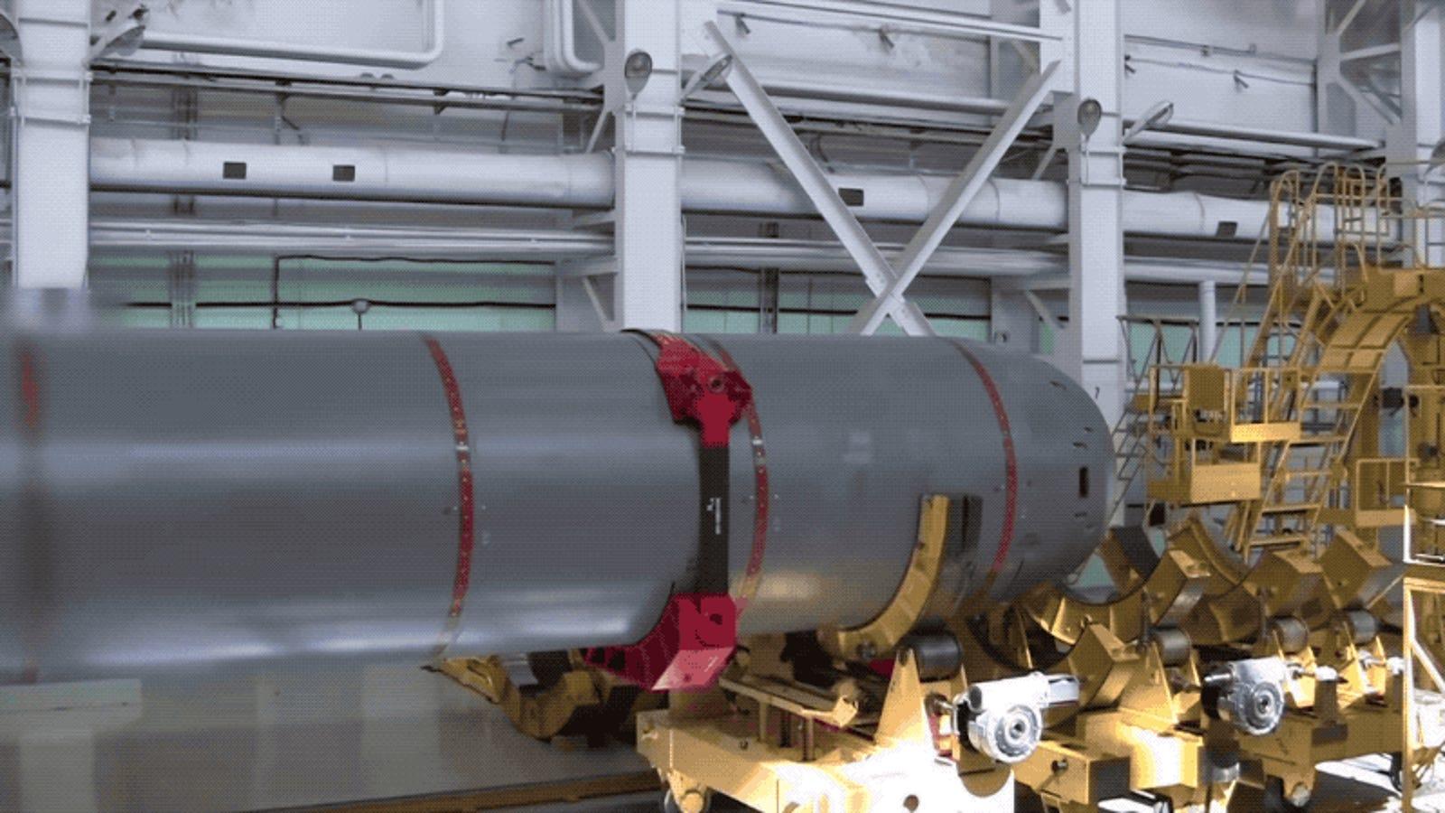 Este es el aspecto real de Poseidón, el nuevo torpedo nuclear ruso indetectable