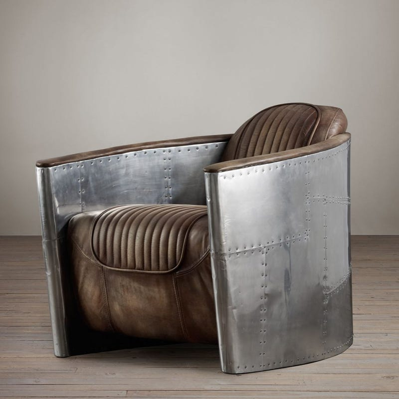 Restoration Hardware Chairs: 13 Designs That Bring Reclaimed Airplane Parts Into Your Home