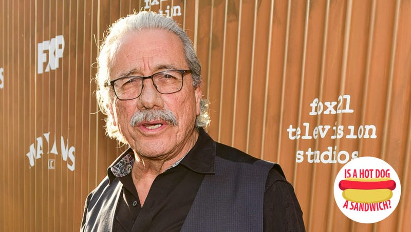 Illustration for article titled Hey Edward James Olmos, is a hot dog a sandwich?