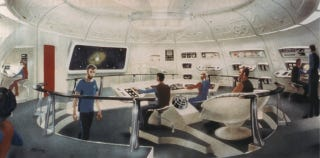 Illustration for article titled Concept Art from the Star Trek Series That Never Was