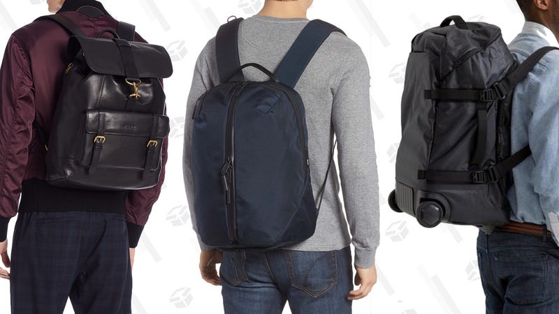 Coach New York Academy BackpackAER Fit Pack 2 BackpackTimbuk2 Quest Rolling Duffel Backpack