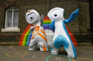 Illustration for article titled London Olympic Mascots Are Revealed, Monstrous