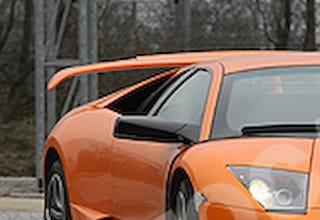 Lamborghini Preparing Rear Wheel Drive Murcielago Sv Largest Wing Ever