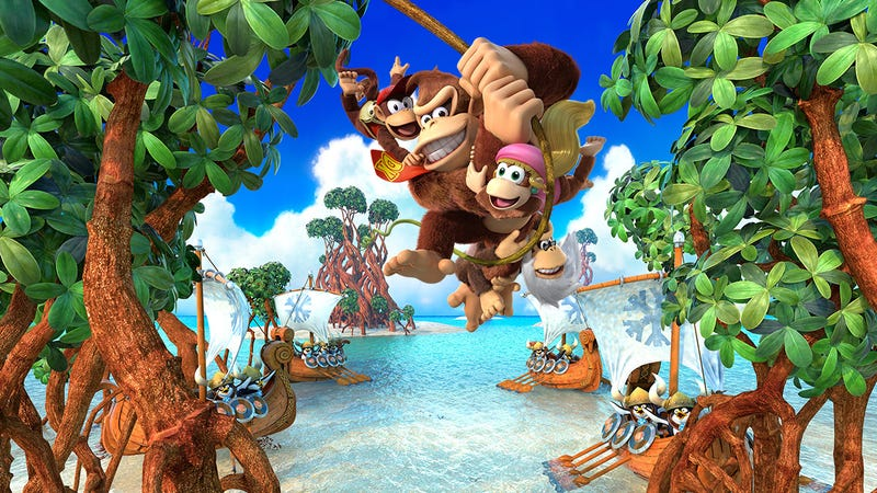 Illustration for article titled Donkey Kong Game Disappears From eShop Ahead Of Switch Re-Release